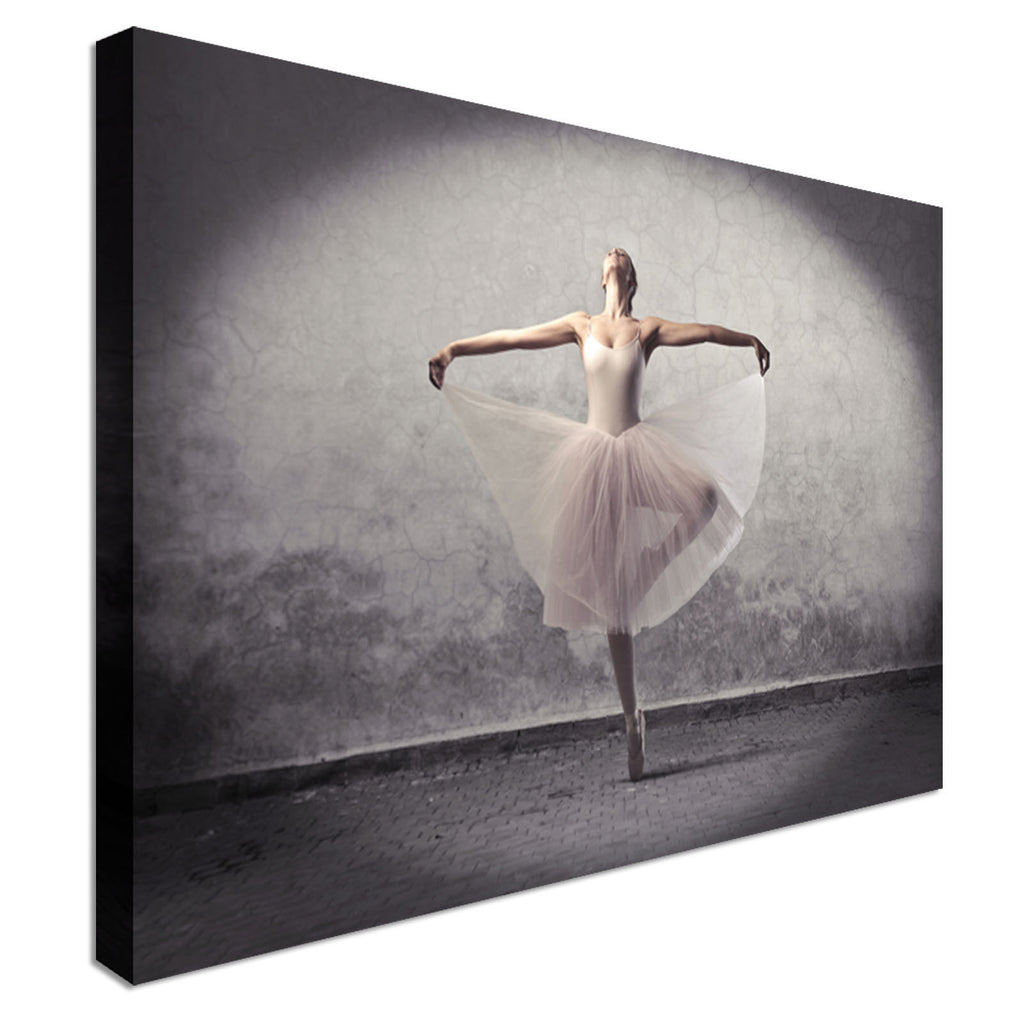 Beautiful ballerina Canvas Wall Art Picture Print