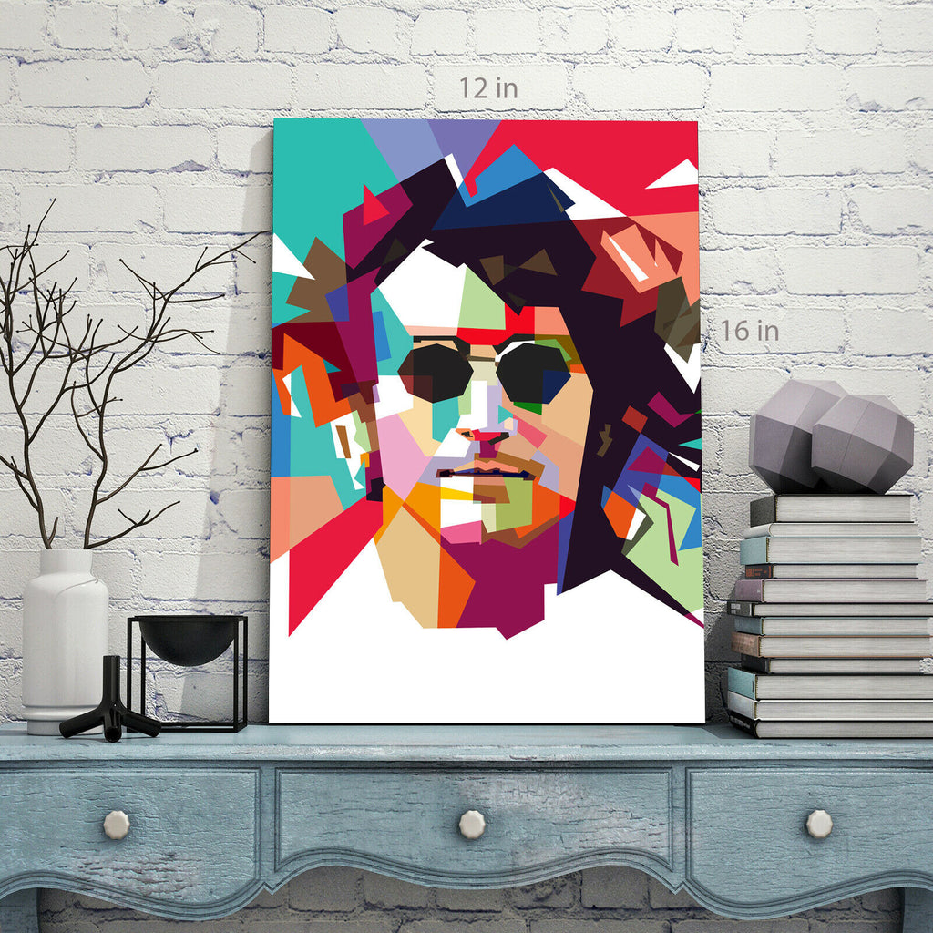 John Lennon Art  Canvas Wall Art Picture Print