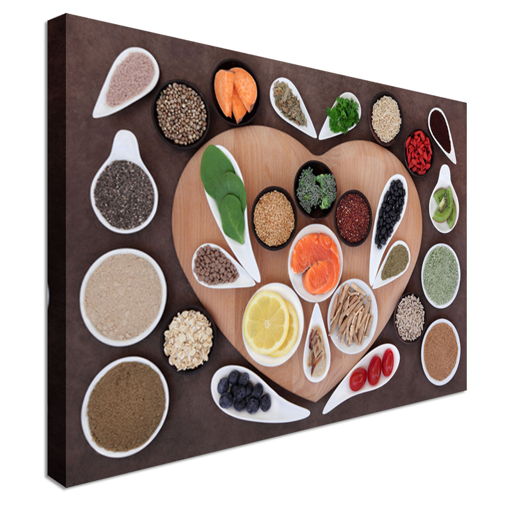 Spice Of Life Canvas Wall Art Picture Print