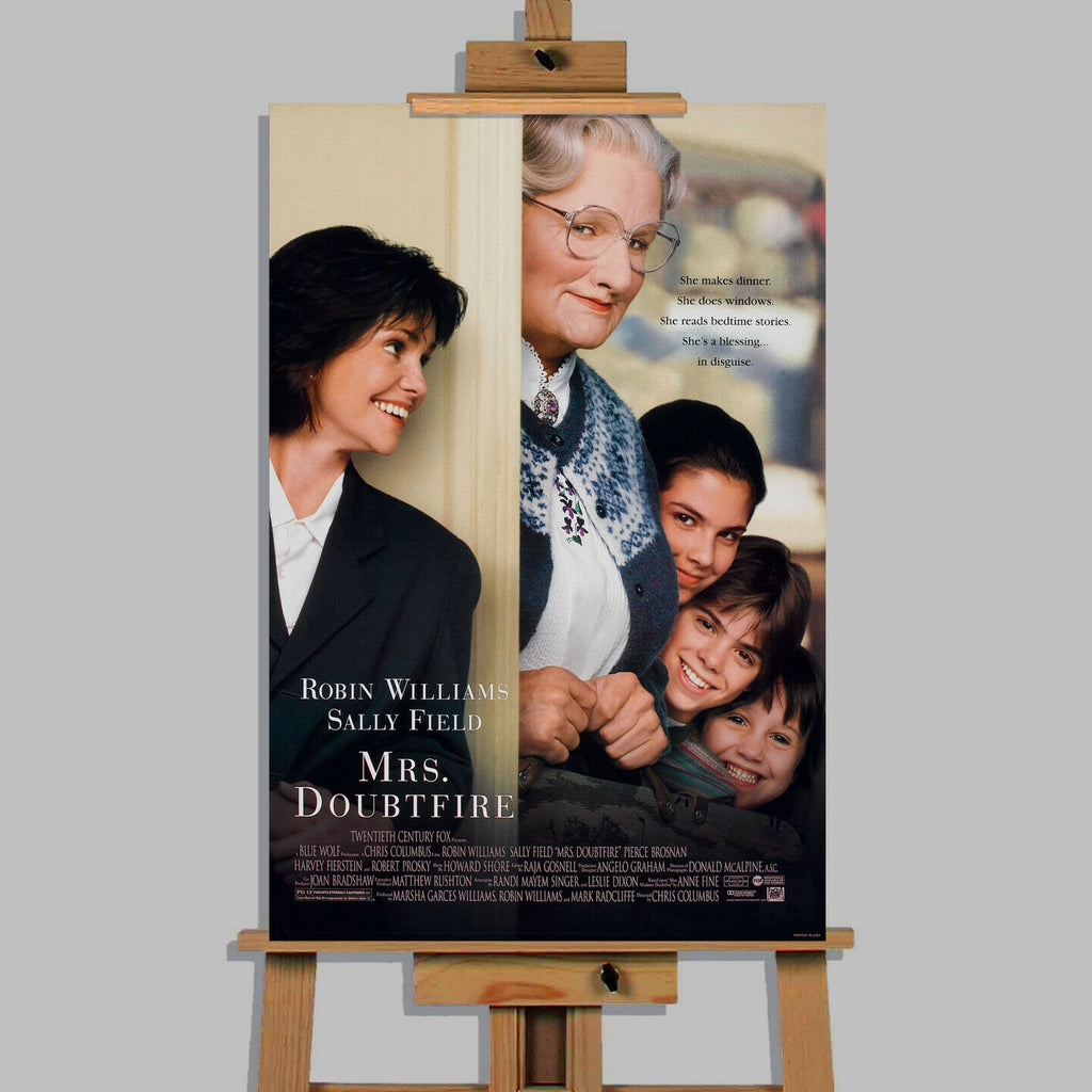 Mrs. Doubtfire Canvas Print Wall Art