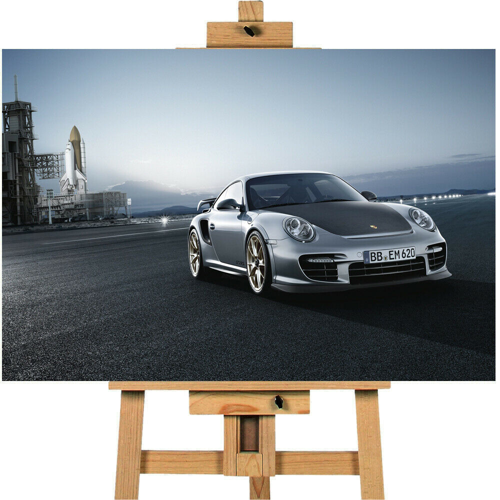 cars Porsche 911 Gt2 Canvas Print Wall art
