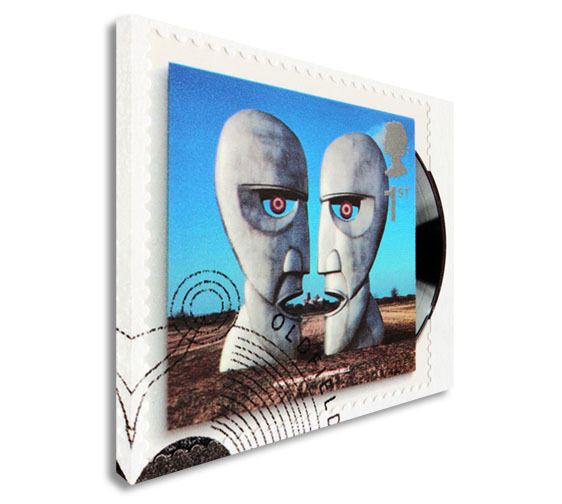 Pink Floyd Stamp Canvas Wall Art Picture Print