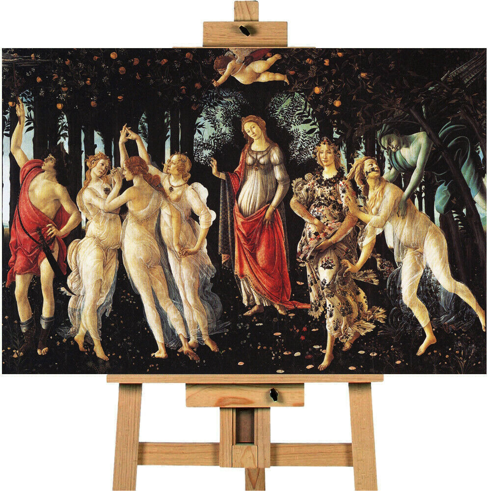 Allegory Of Spring By Botticelli Canvas Art Picture Print