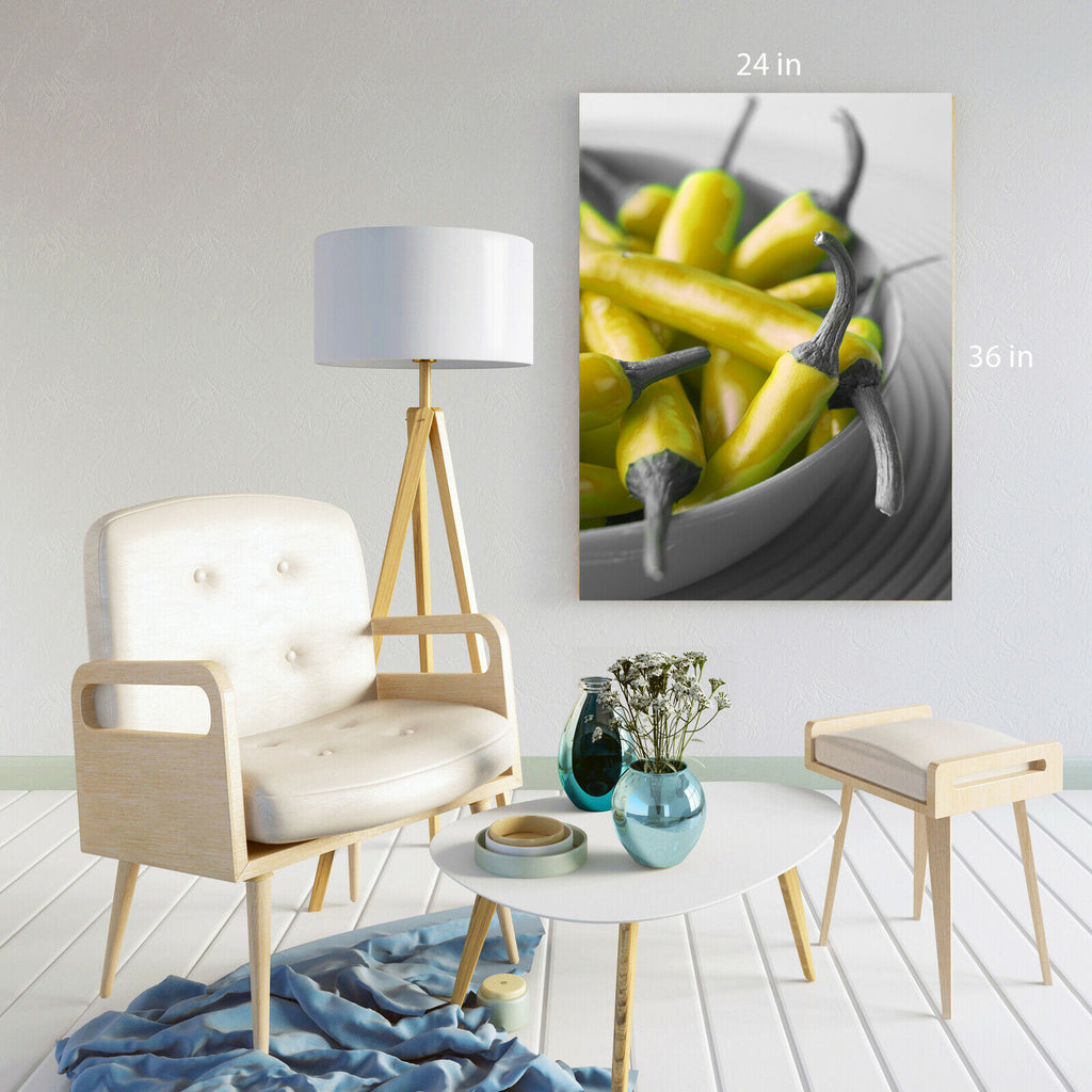 chili peppers Canvas Wall Art Picture Print