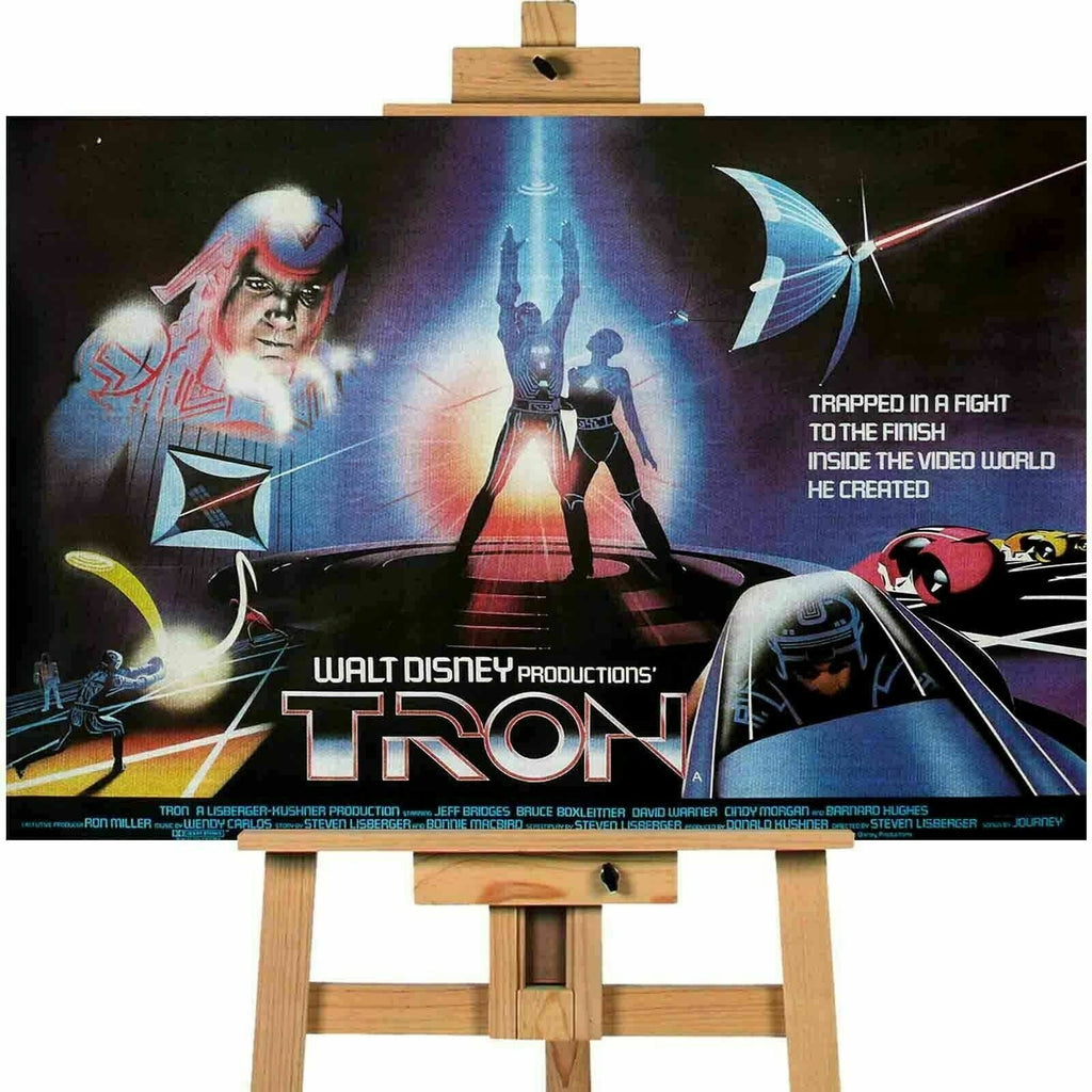 Tron The  Movie  Canvas Print Wall Art