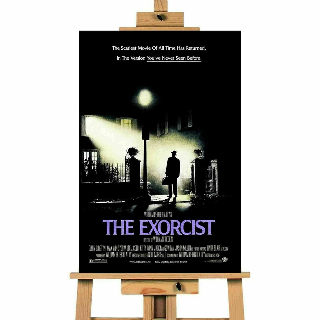The Exorcist Movie Poster Canvas Print  Wall Art