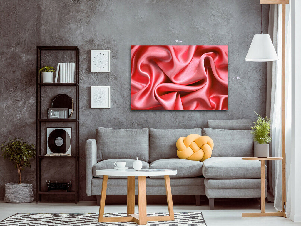 Velvet Abstract Canvas Wall Art Picture Print