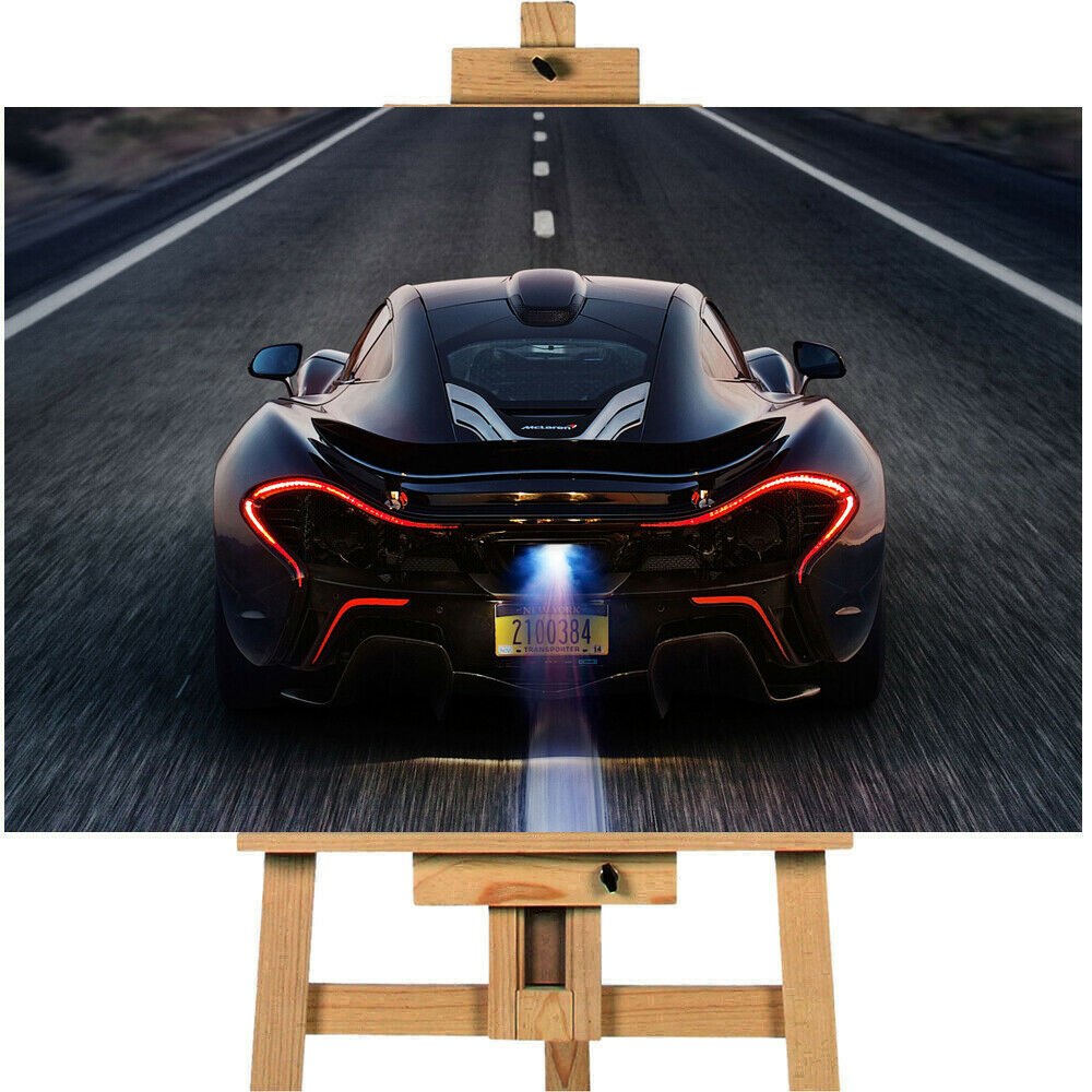 Mclaren Supercar Canvas Print Wall art