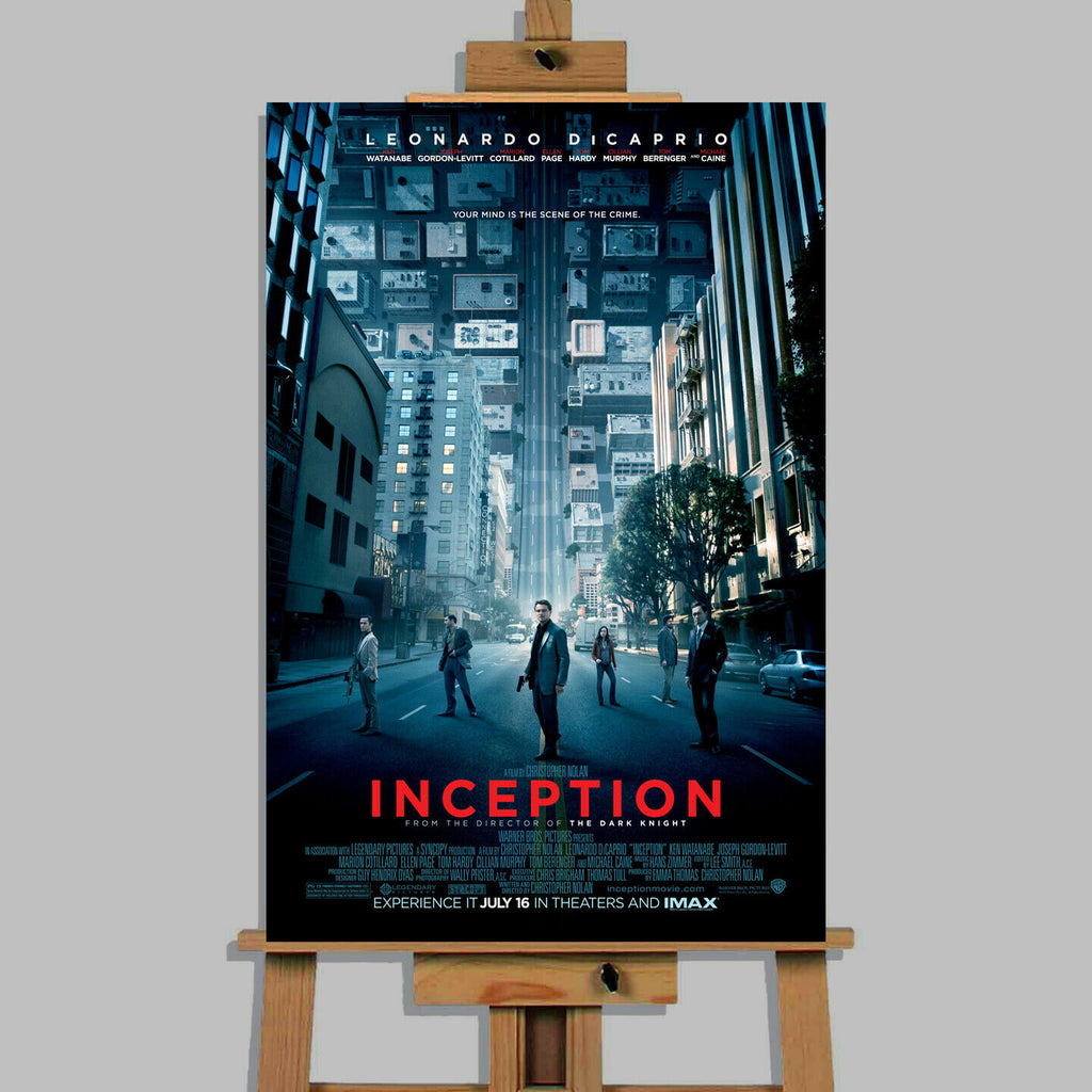 Inception Movie Canvas Print Wall Art