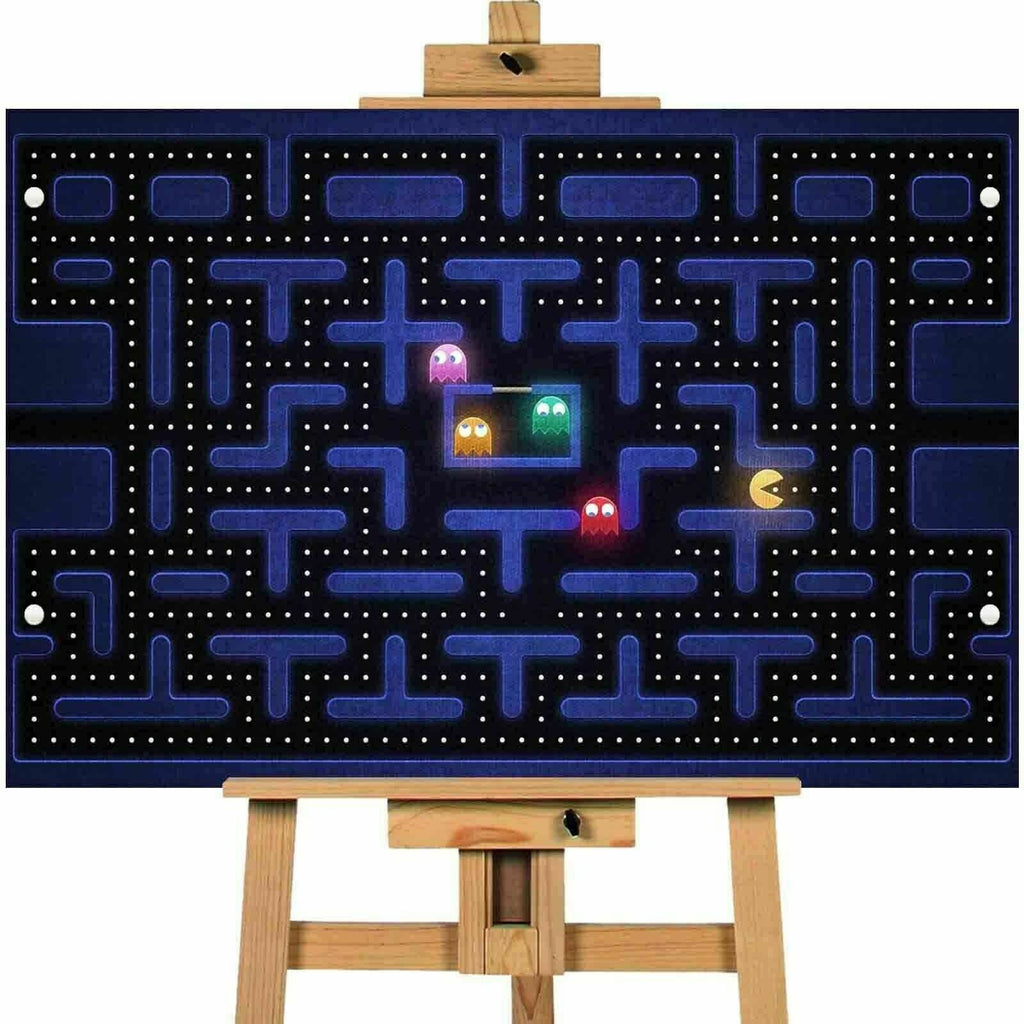 Pacman Canvas  Print Wall Art