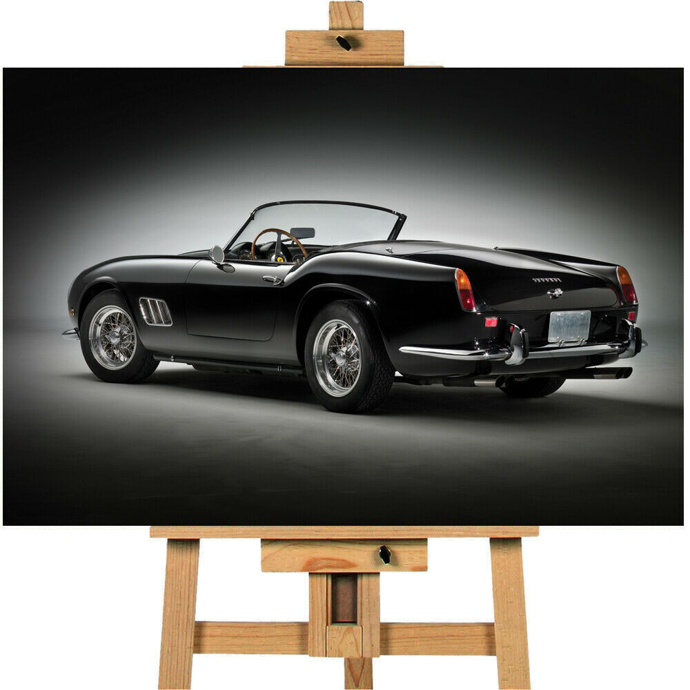 Car 1961 Ferrari 250 GT California Spyder Canvas Print Wall art