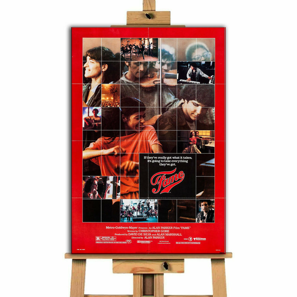Fame Movie Canvas Print Wall Art