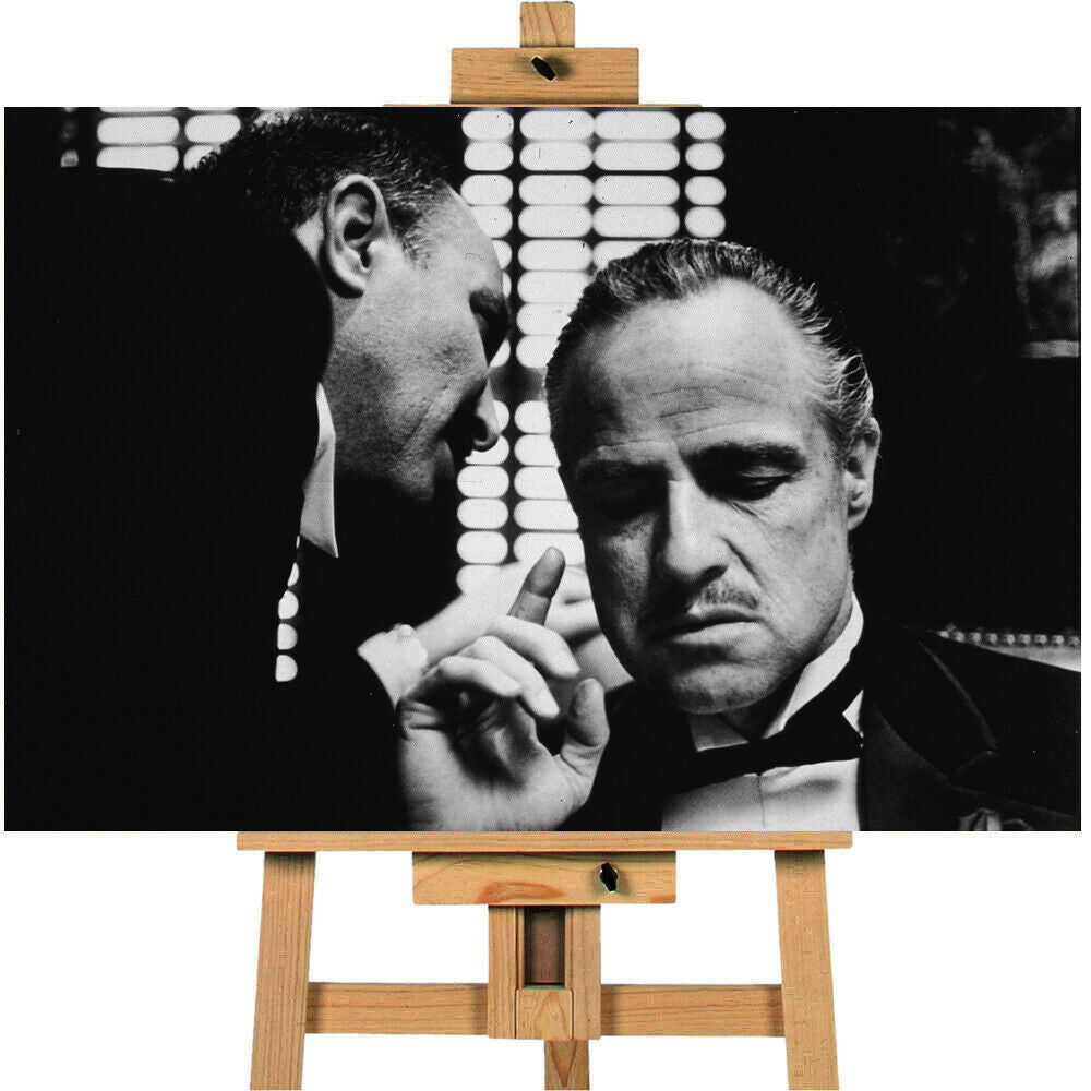 Marlon Brando The Godfather Canvas Print Wall Art Poster