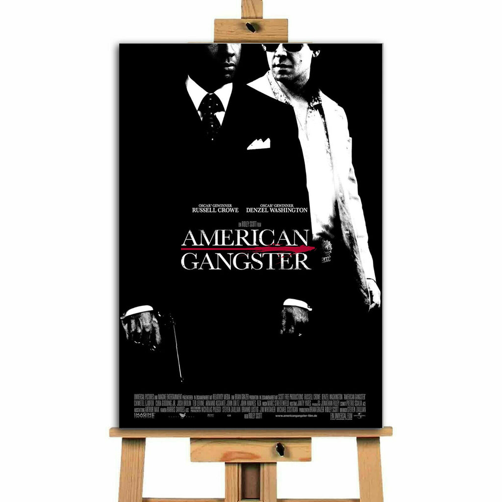 American Gangster  Movie  Canvas Print Wall Art