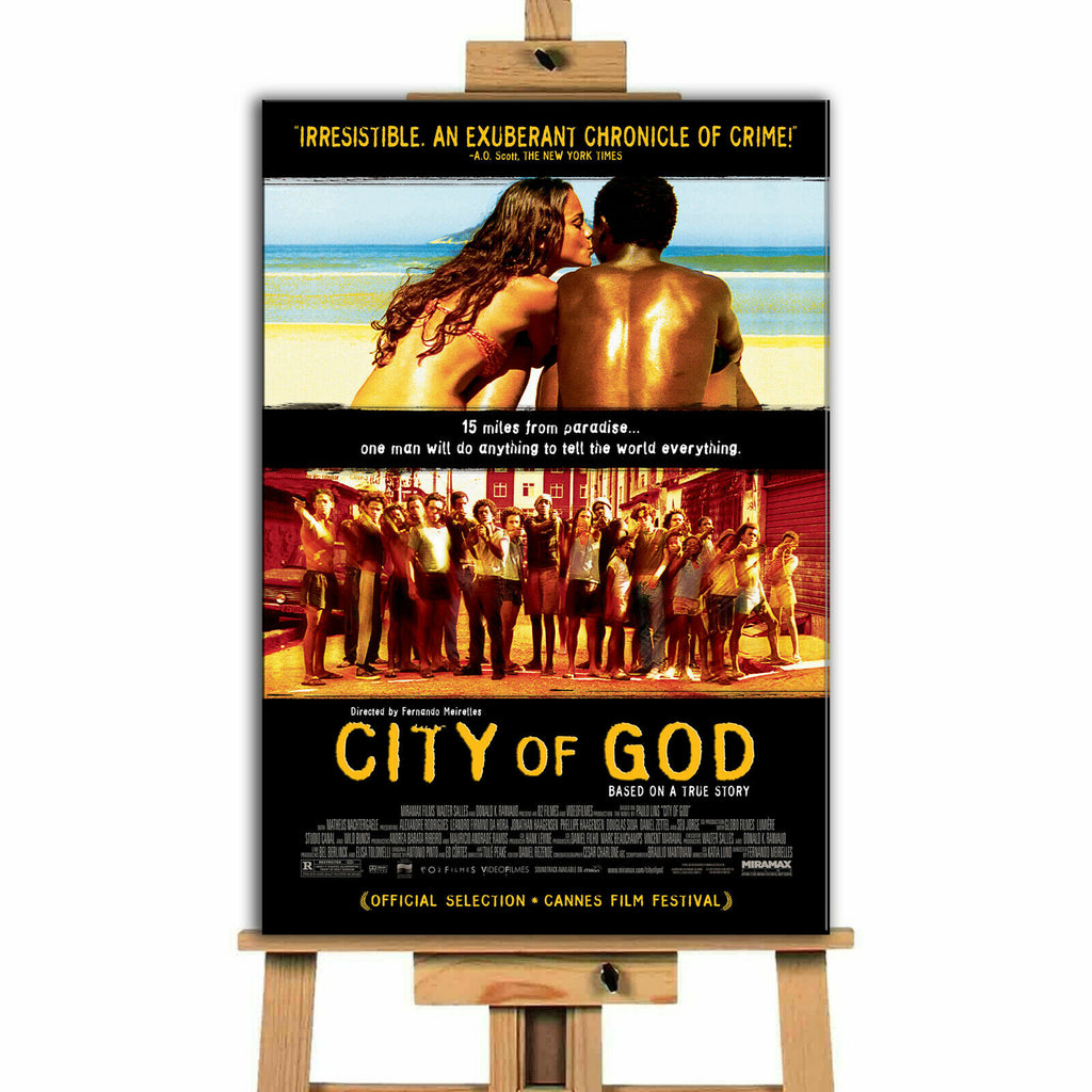 City Of God Movie  Canvas Print Wall Art