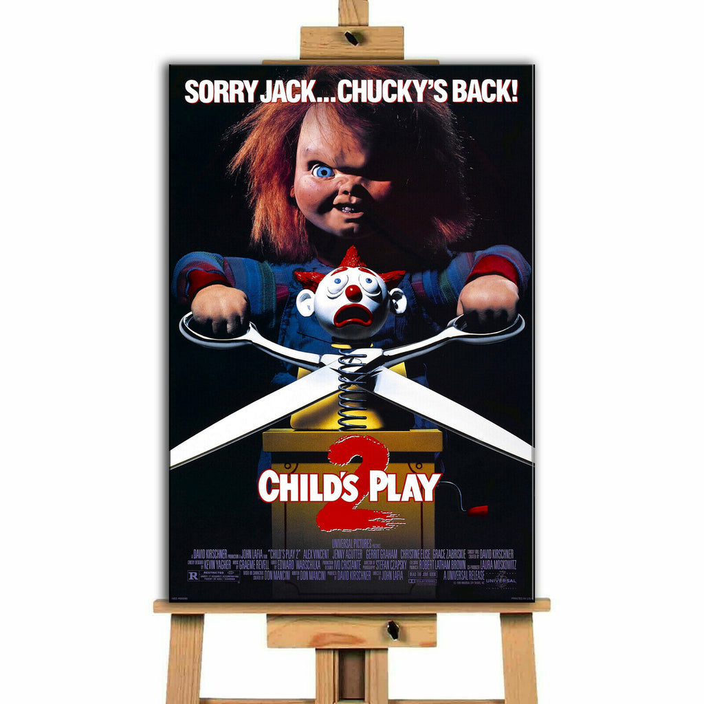 Child's Play Movie  Collection  Canvas Print  Wall Art