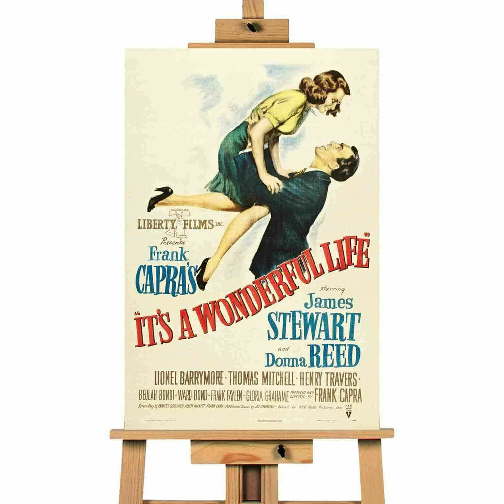 It's A Wonderful Life Movie Canvas Print Wall Art