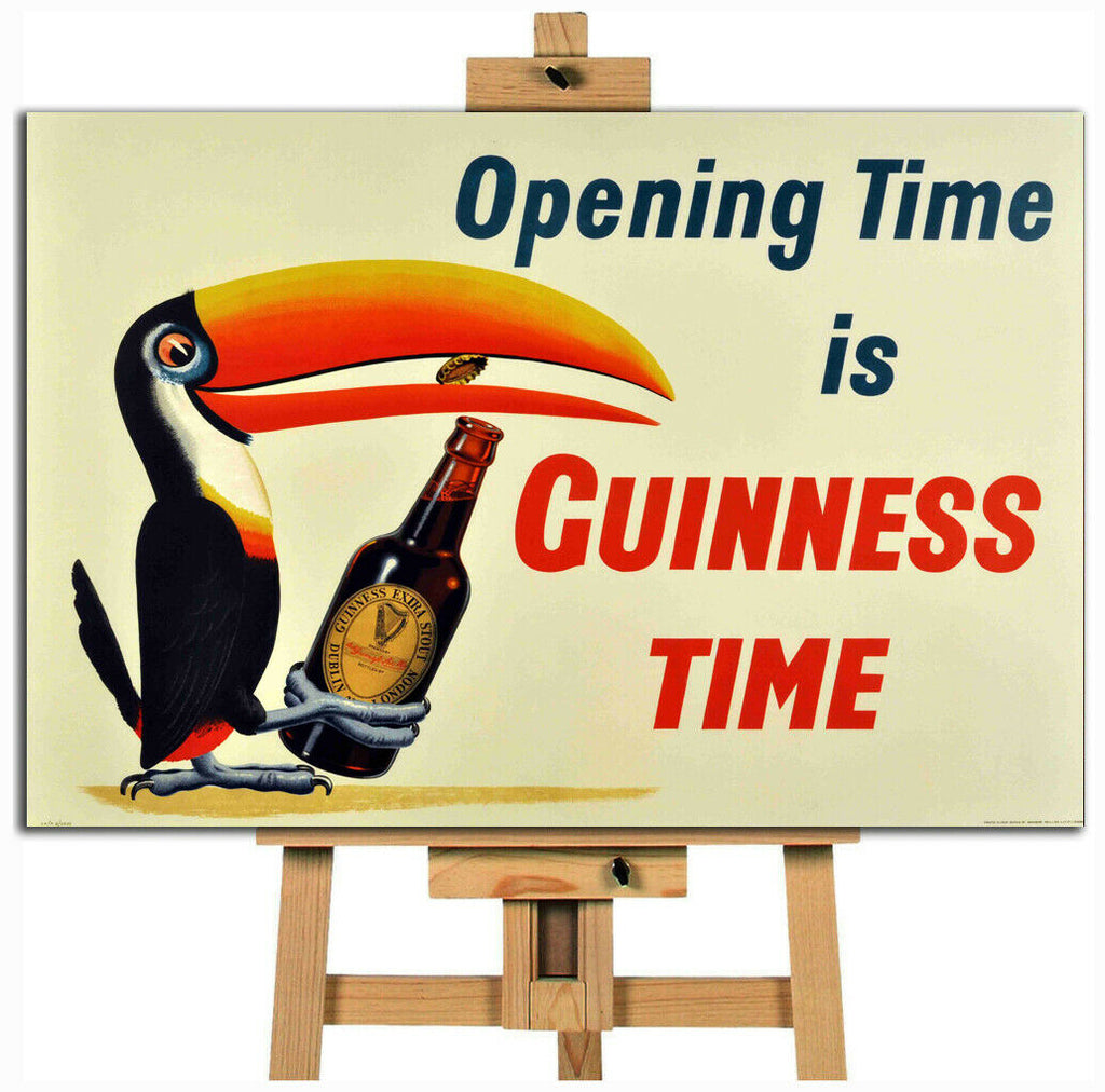 Guiness Advert  canvas wall art print