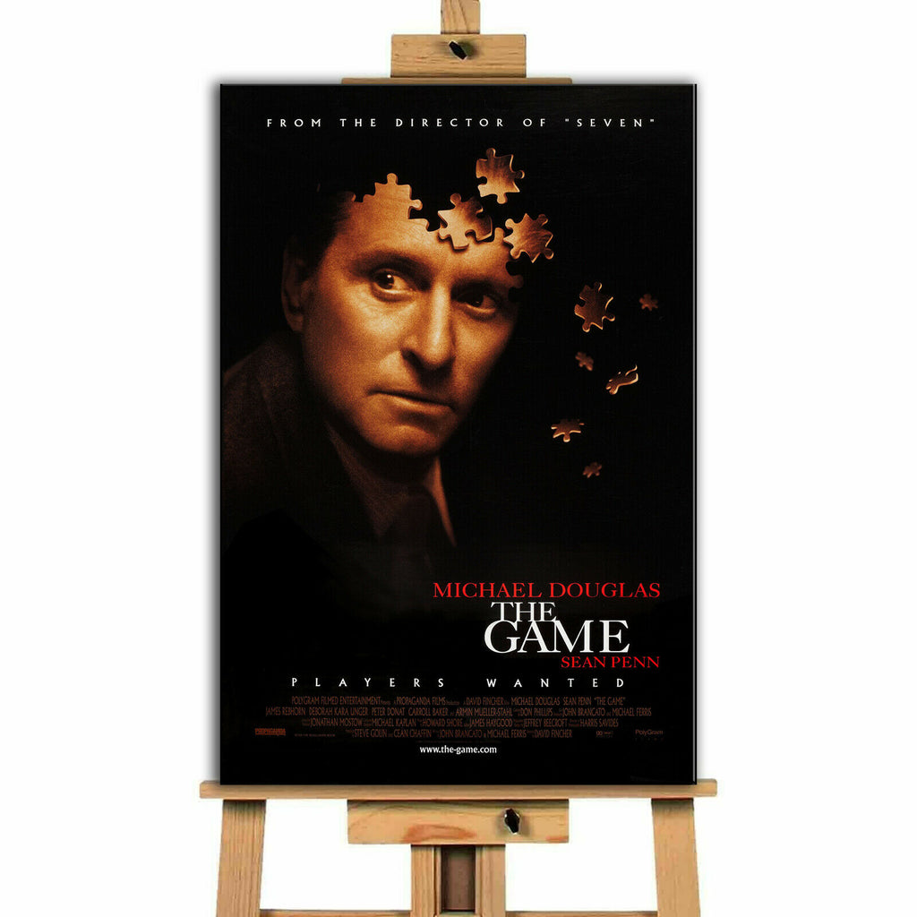 The Game Movie Canvas Print Wall Art