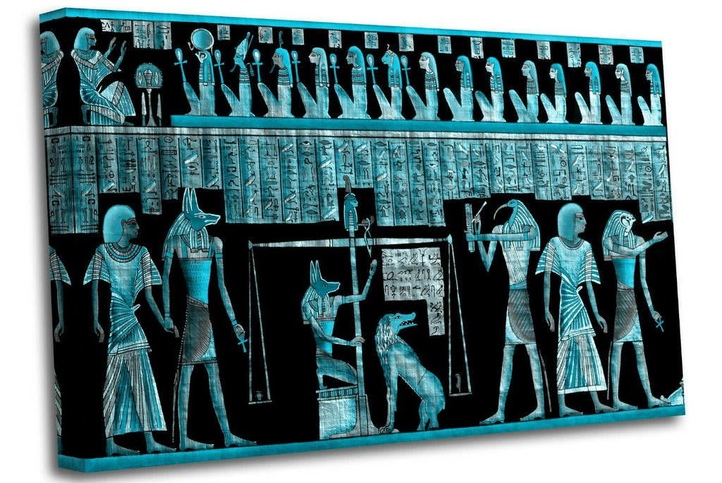 Papyrus Egyptian Ancient Civilization Canvas Wall Art Picture Print