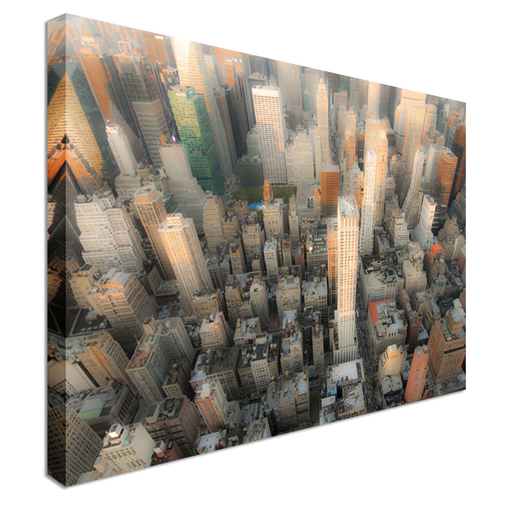Skyscrapers Canvas Wall Art Picture Print