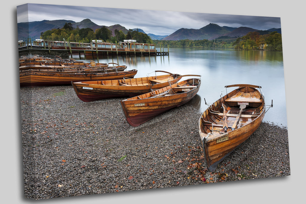 Keswick, English Lake District UK Canvas Wall Art Picture Print