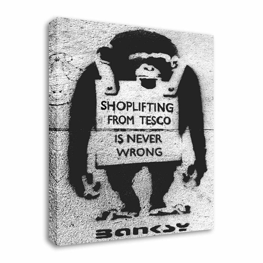 Tesco Shoplifter Monkey