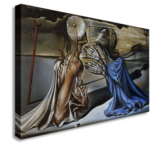 Salvador Dali Tristan and Isolde 40x 30 inches Canvas Wall Art Picture Print