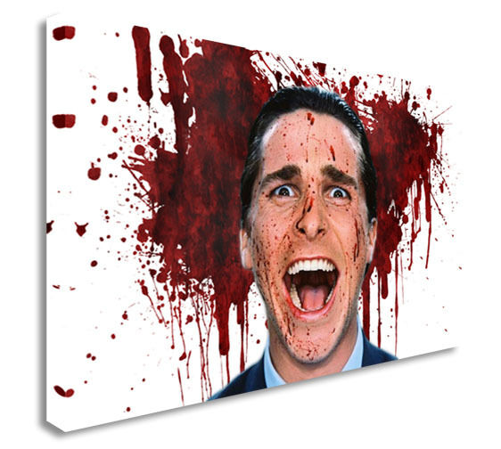 American Psycho Canvas Wall Art Picture Print