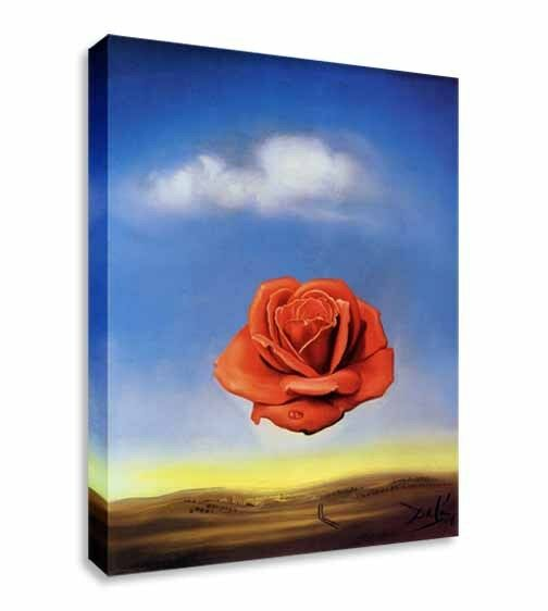Salvador Dali - Rose Canvas Wall Art Picture Print