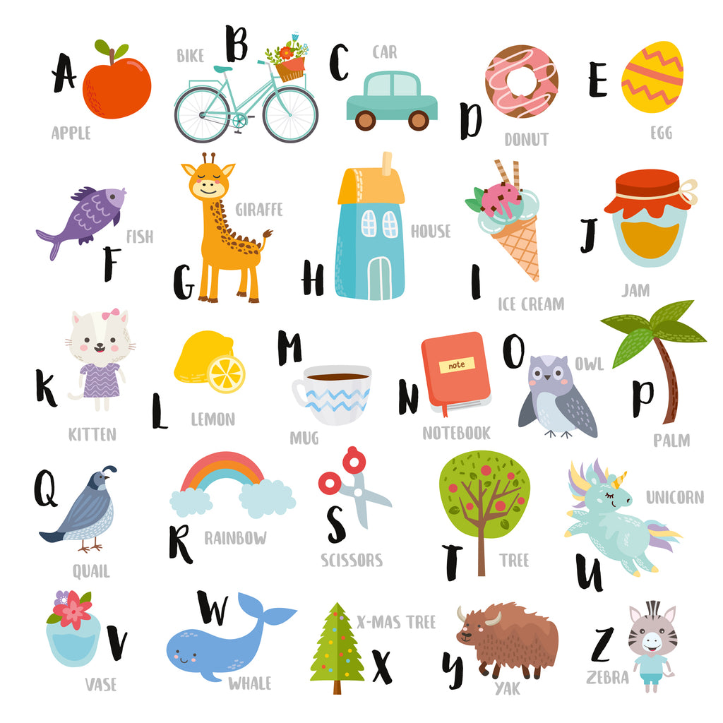 Kids Alphabet Happy