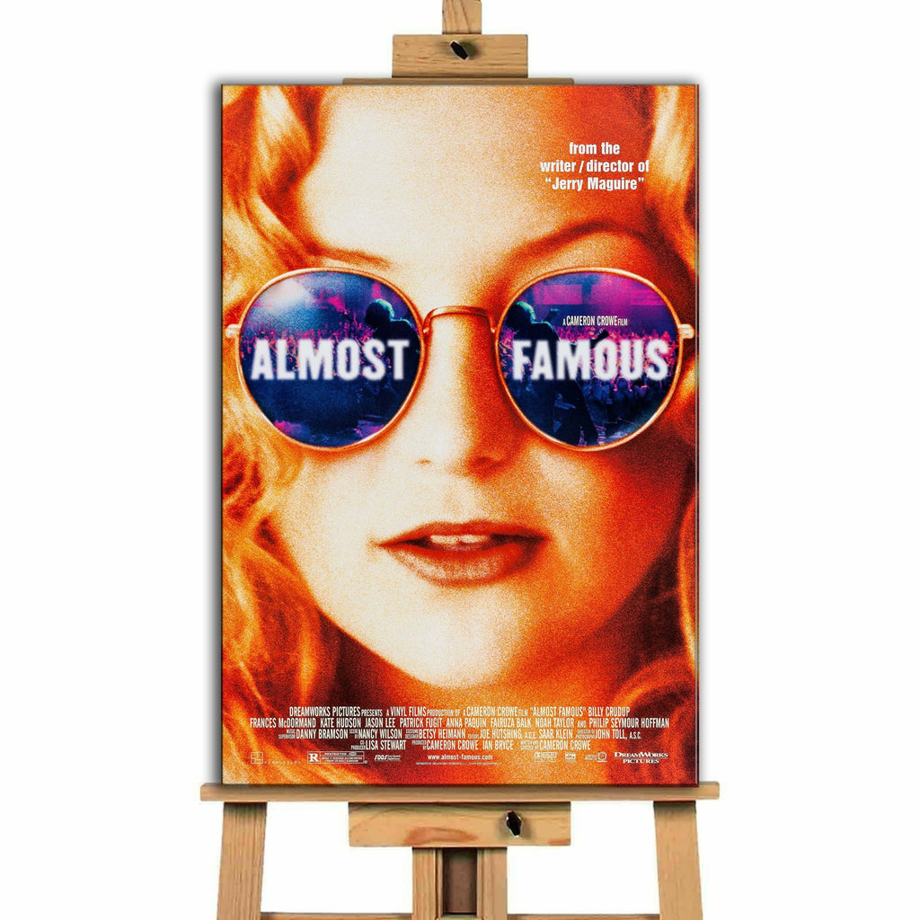 Almost Famous<br> Canvas Print </br>