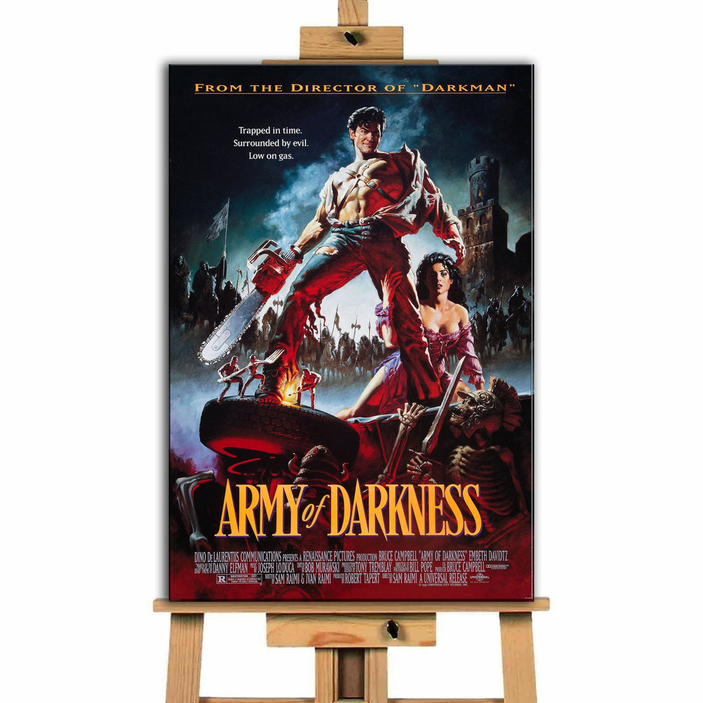 Army Of Darkness<br> Canvas Print </br>