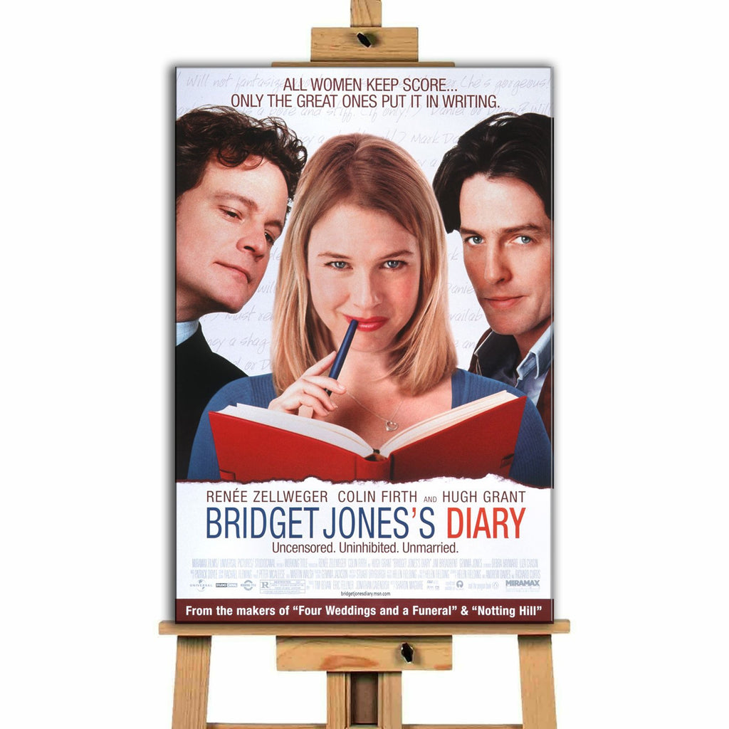 Bridget Jones' Diary <br> Canvas Print </br>
