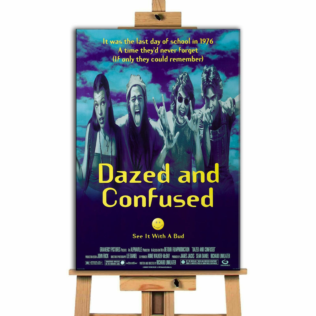 Dazed and Confused<br> Canvas Print </br>