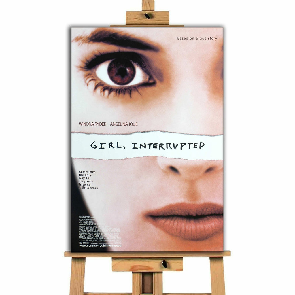 Girl, Interrupted<br> Canvas Print </br>
