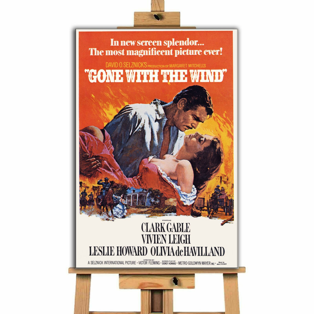 Gone With The Wind<br> Canvas Print </br>