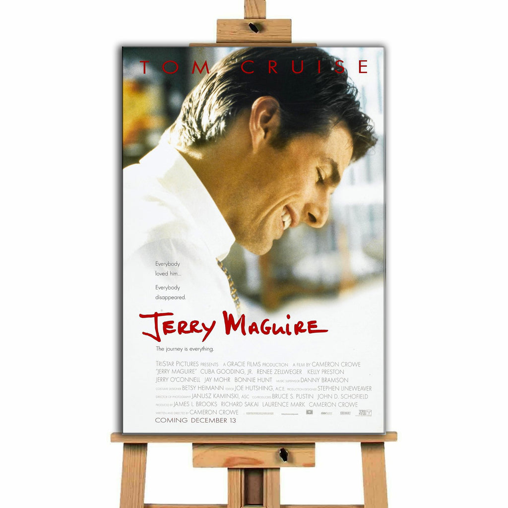Jerry MaGuire<br> Canvas Print </br>