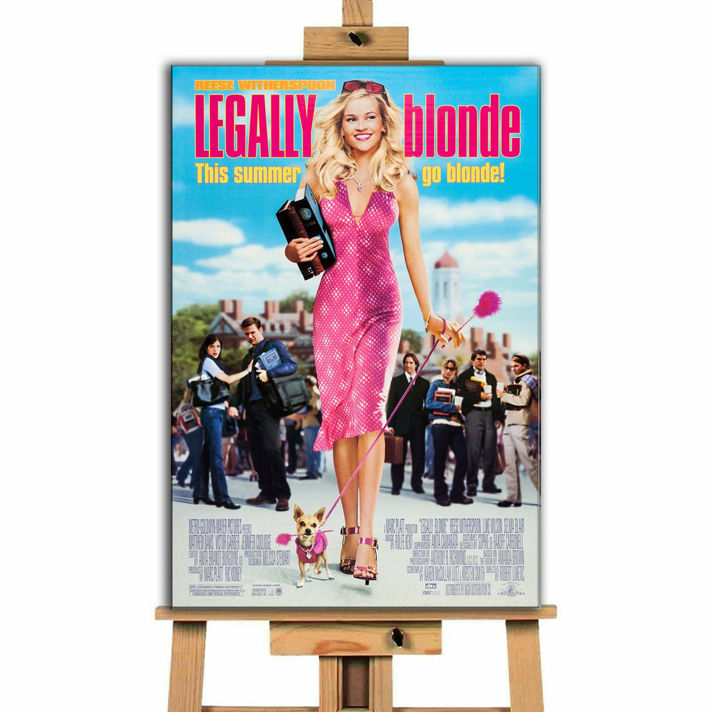 Legally Blonde<br> Canvas Print </br>