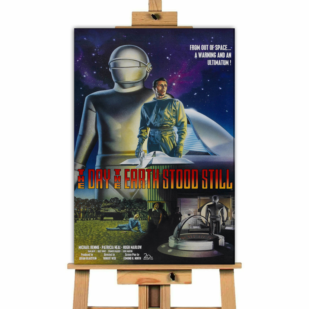 The Day The Earth Stood Still<br> Canvas Print </br>