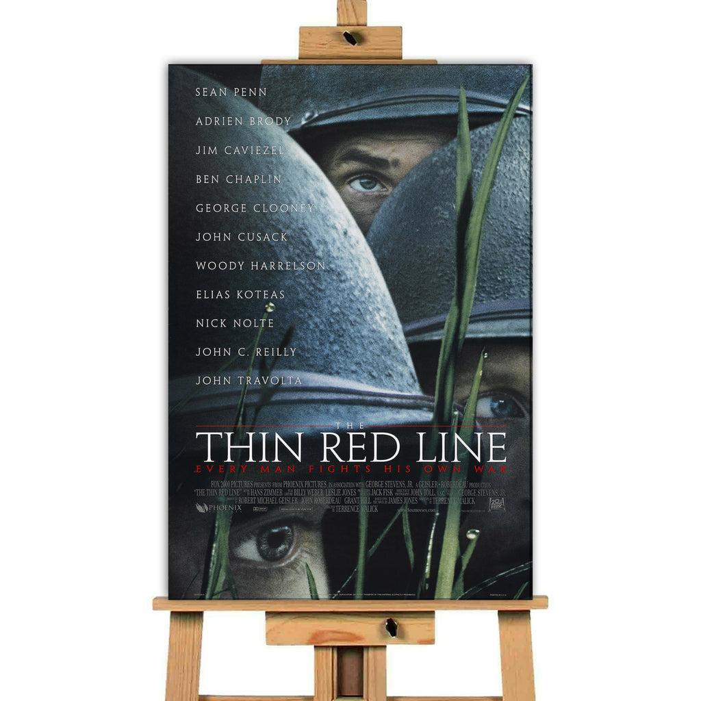 Thin Red LIne<br> Canvas Print </br>
