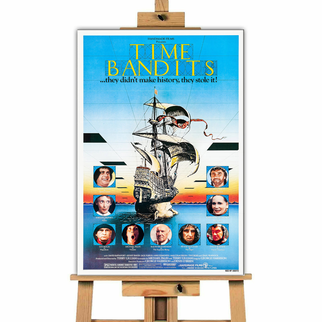 Time Bandits<br> Canvas Print </br>