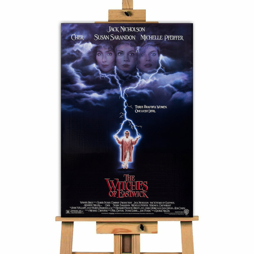 Witches Of Eastwick<br> Canvas Print </br>
