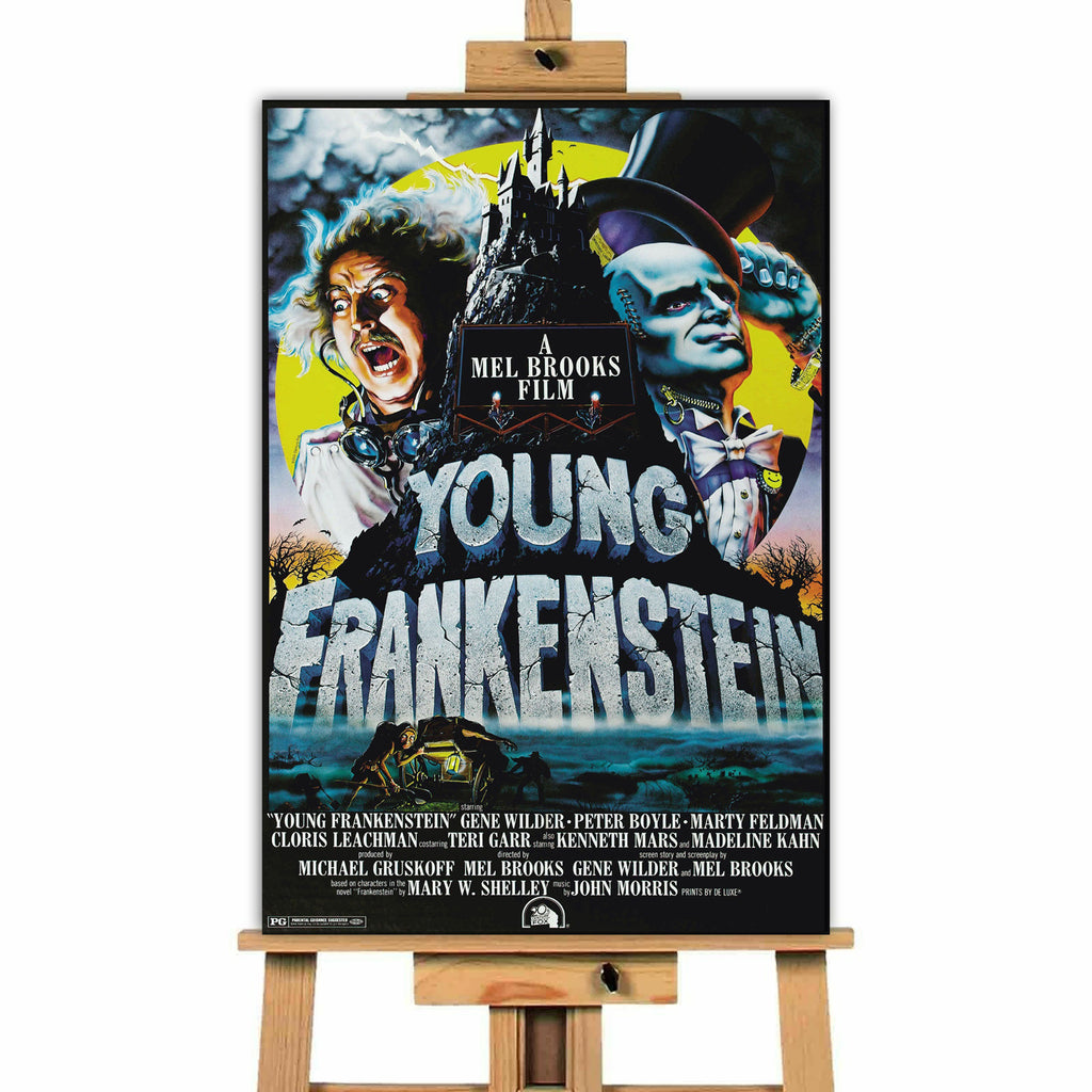Young Frankenstein<br> Canvas Print </br>