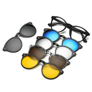 5 in 1 Magnetic Lens Sunglasses default 5 in 1 Magnetic Lens Sunglasses 4