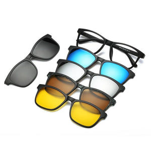 5 in 1 Magnetic Lens Sunglasses default 5 in 1 Magnetic Lens Sunglasses 6