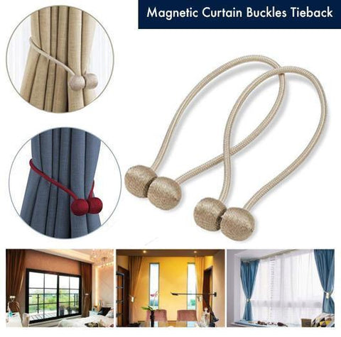 Deluxe™: Magnetic Curtain Buckles Tieback Deluxe™: Magnetic Curtain Buckles Tieback GOLD