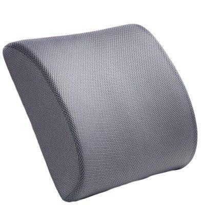 Memory Foam Breathable Healthcare Lumbar Cushion Back Waist Support Travel Pillow Car Seat Home Office Pillows Relieve Pain default Memory Foam Breathable Healthcare Lumbar Cushion Back Waist Support Travel Pillow Car Seat Home Office Pillows Relieve Pain Màu xám