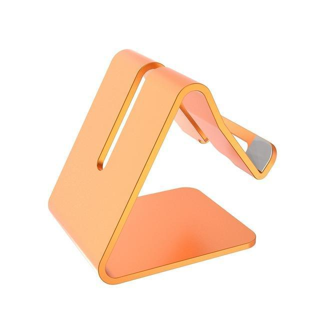 Mobile Phone Tablet Stand default Mobile Phone Tablet Stand gold