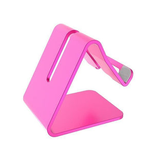 Mobile Phone Tablet Stand default Mobile Phone Tablet Stand rose red